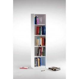 کتابخانه DND مدل توچال - پنج طبقه - سفید