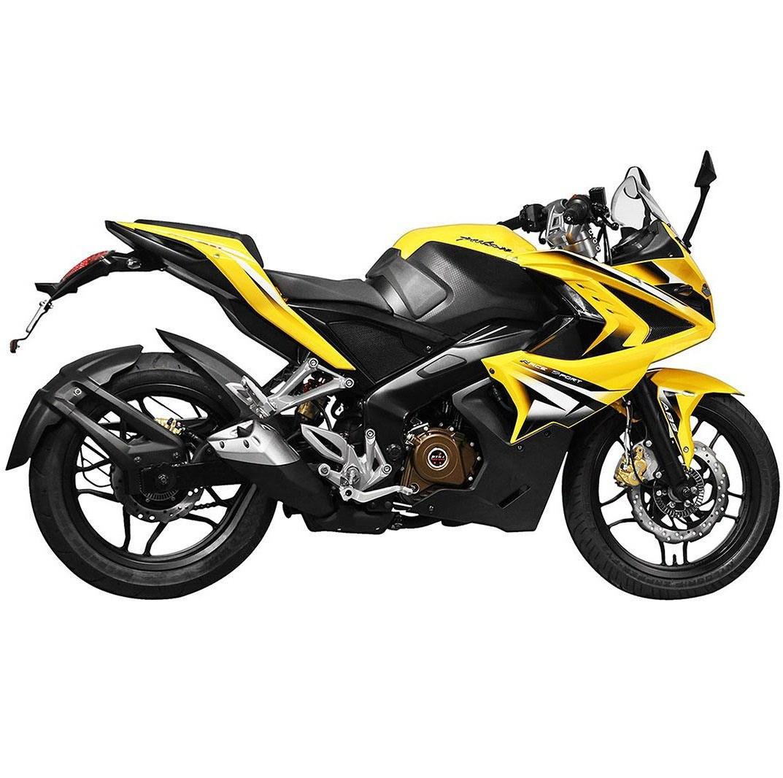 تصویر موتور سیکلت باجاج Pulse RS200 سال 1400 زرد