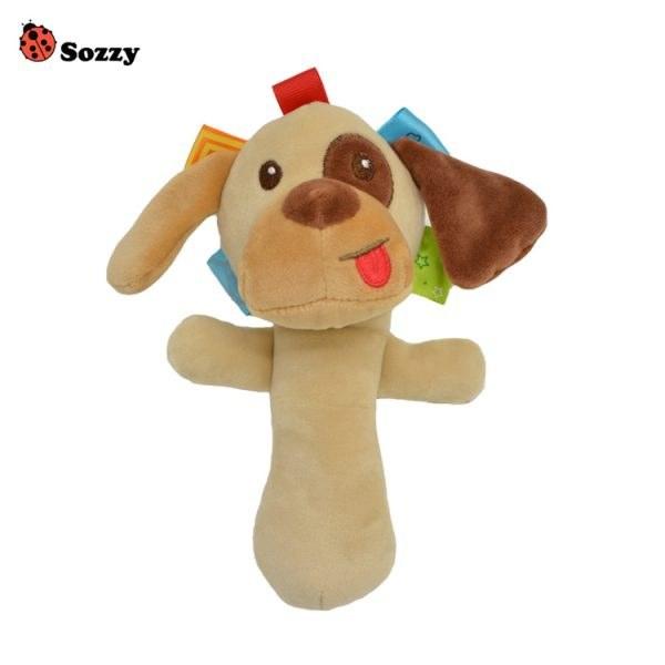 عروسک پولیشی جغجغه ای سوزی «sozzy» طرح هاپو |