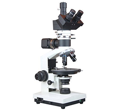 Radical Research Geology Ore Incident Light Polarizing Microscope w 18 Mp USB 3.0 PC Camera |