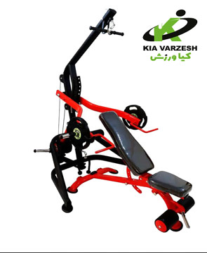 تصویر دستگاه بدنسازی ۴۰ کاره 40 function fitness machine