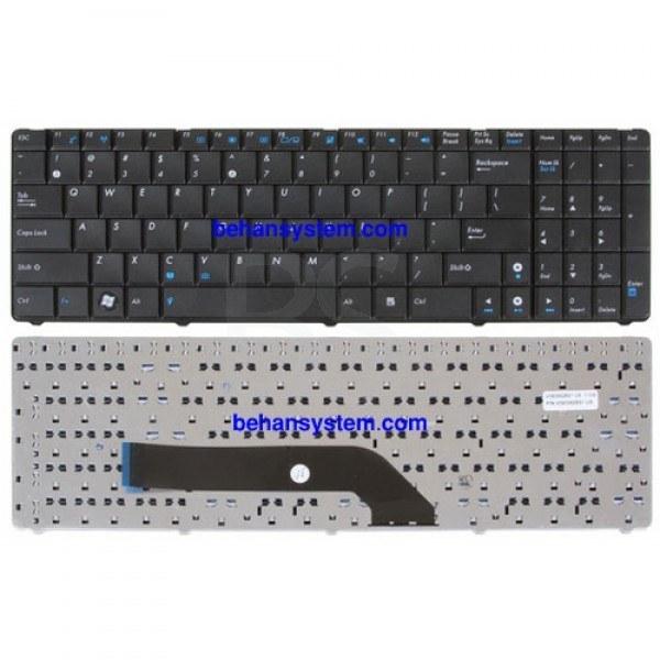 (به همراه لیبل کیبورد فارسی جدا گانه) | کیبورد لپ تاپ ASUS مدل K70