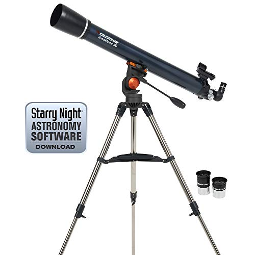 عکس Celestron 21063 AstroMaster 90 AZ Refractor Telescope  celestron-21063-astromaster-90-az-refractor-telescope