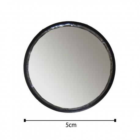 تصویر آینه محدب کوچک