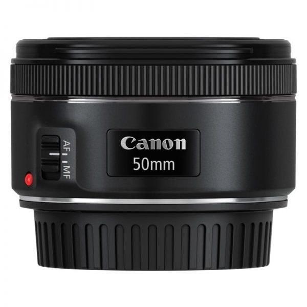 لنز کانن Canon EF 50mm f/1.8 STM | Canon EF 50mm f/1.8 STM Camera Lens