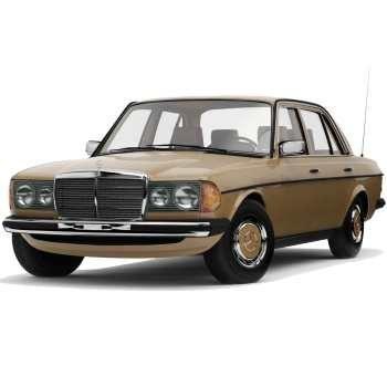 خودرو مرسدس بنز E230 W123 دنده ای سال 1985