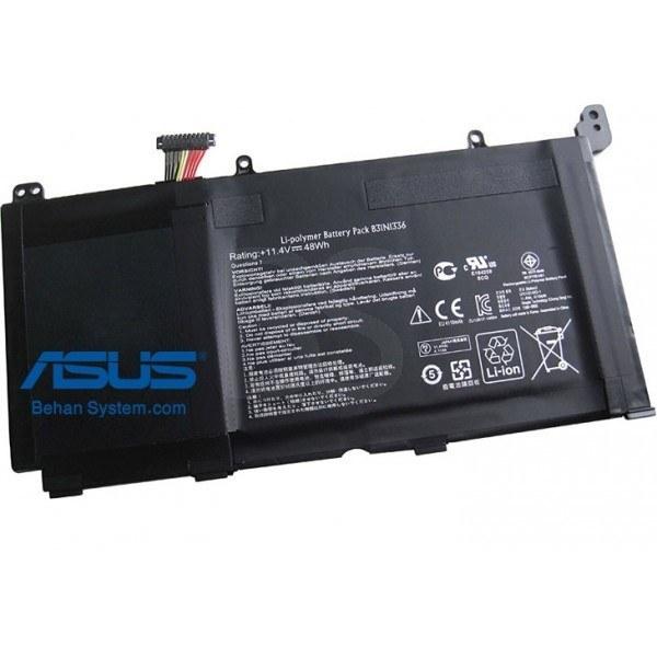 تصویر باتری داخلی لپ تاپ ASUS مدل VivoBook K551