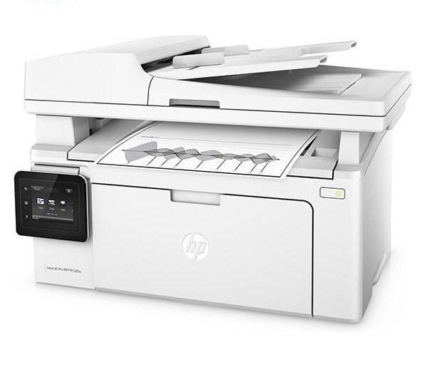تصویر پرینتر چندکاره لیزری اچ پی مدل LaserJet Pro MFP M130fw HP LaserJet Pro MFP M130fw Multifunction Laser Printer