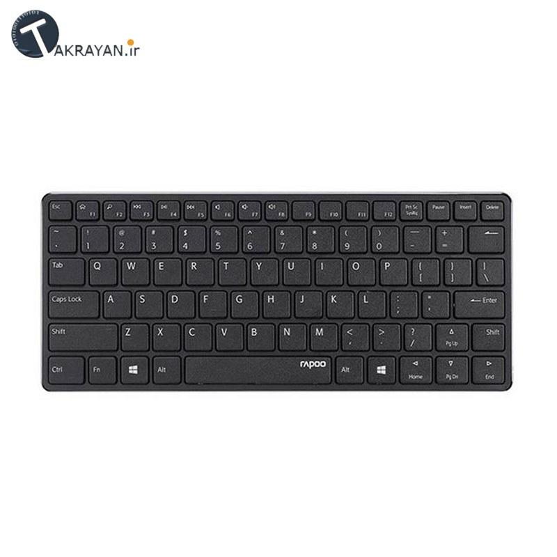 تصویر RAPOO E6350 Bluetooth Mini Ultra-Slim Keyboard