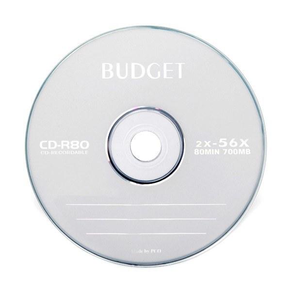 سی دی خام باجت شرینک 50 عددی |