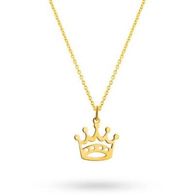 گردنبند طلا زنانه کد ۵۵-A94