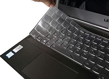 image محافظ قالبی صفحه کلید لپتاپ لنوو 15 اینچ – بدون حروف چاپی Keyboard Cover For Laptop 15 Inch-1