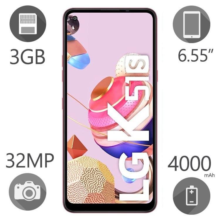 تصویر گوشی موبایل الجی مدل K51S دو سیم کارت - ظرفیت 64 گیگابایت