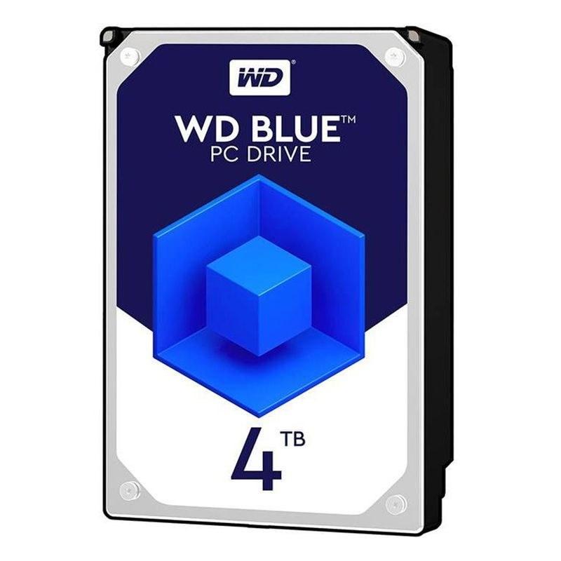 تصویر هارددیسک اینترنال وسترن دیجیتال مدل Blue WD40EZAZ ظرفیت 4 ترابایت و بافر 256 مگابایت