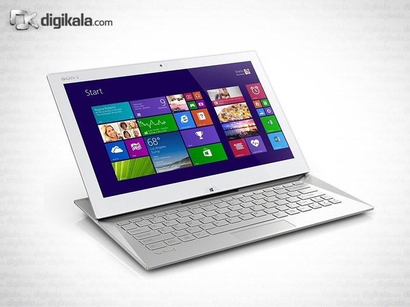 img لپ تاپ ۱۳ اینچ سونی VAIO Duo 13 SVD1321M2EW Sony VAIO Duo 13 SVD1321M2EW | 13 inch | Core i5 | 4GB | 128GB