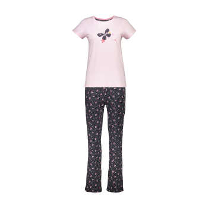 ست تی شرت و شلوار راحتی زنانه ناربن مدل 1521139-84   Narbon 1521139-84 T-shirt And Pants Set For Women
