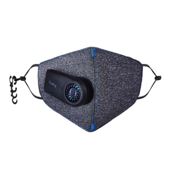 تصویر ماسک شارژی ضد آلودگی و تصفیه هوا مدل Purely (HZSN001)  Xiaomi Purely Air Purifying Respirator mask
