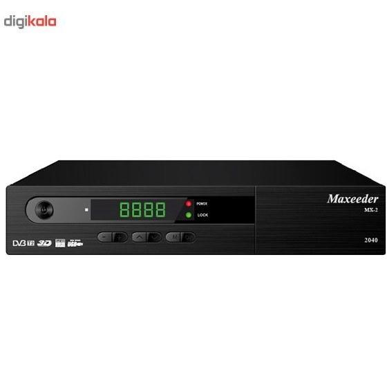 تصویر گیرنده دیجیتال مکسیدر مدل MX-2 2040 Maxeeder MX-2 2040 DVB-T