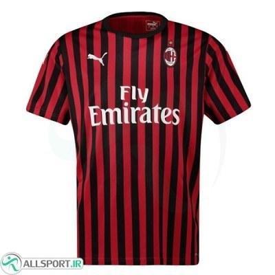 پیراهن اول آث میلان Milan 2019-20 Home Soccer Jersey