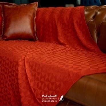 تصویر شال مبل برمودا سایز 200*130 قرمز