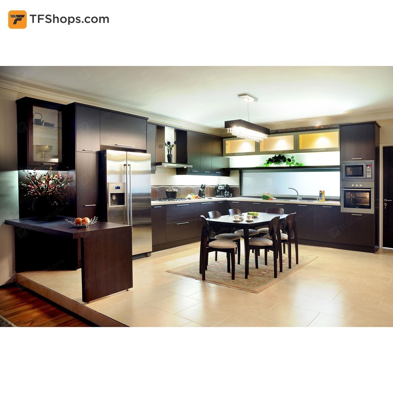 تصویر کابینت آشپزخانه تهران فرم مدل M06 Kitchen Cabinet