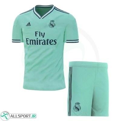 پیراهن شورت سوم رئال مادرید Real Madrid 2019-20 3rd Soccer Jersey Kit Shirt+Short
