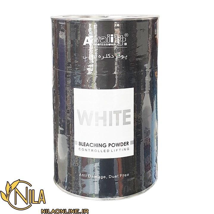 main images پودر دکلره سفید آوایی ۱۰۰۰ گرم
