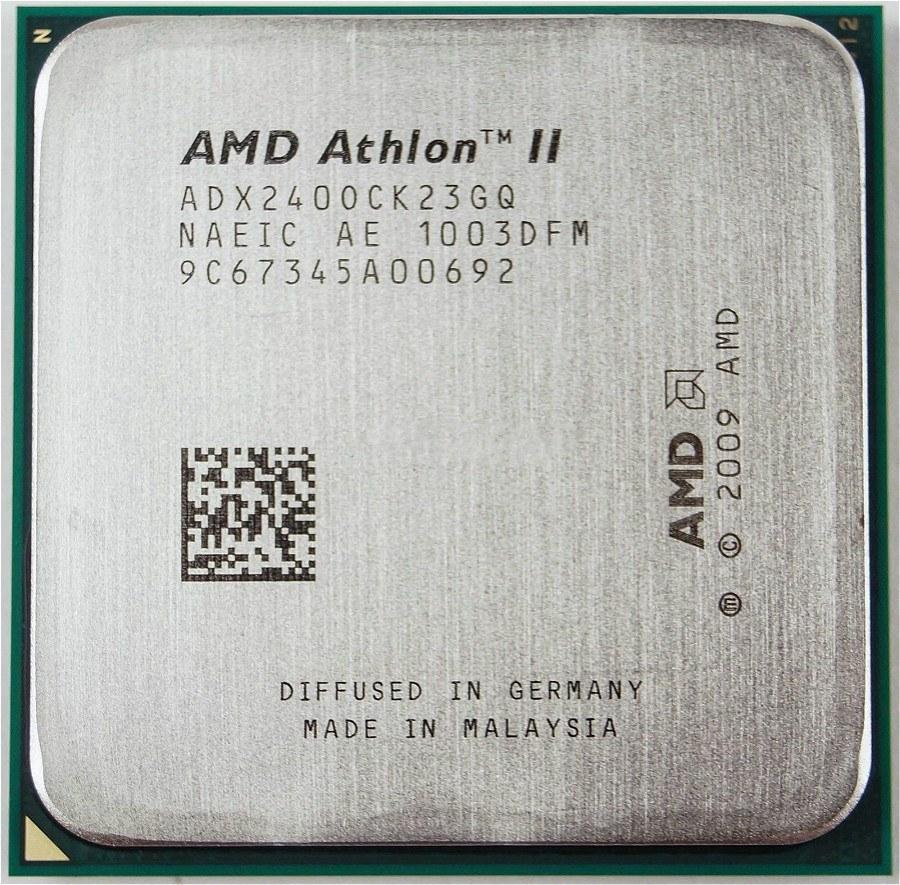پردازنده ای ام دی اتلون ۲ ایکس ۲ ۲۴۰ ای ام تری