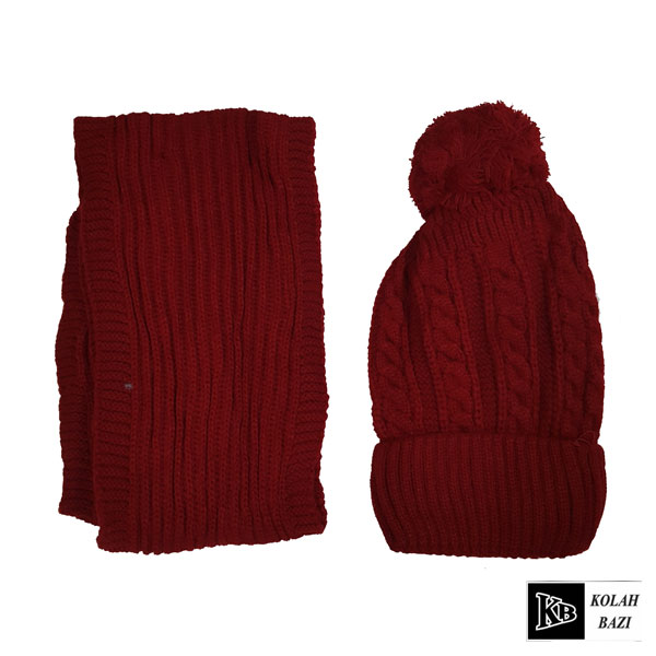 main images شال و کلاه بافت مدل shk61 Textured scarf and hat shk61