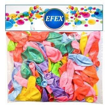 تصویر بادکنک طرح 10 EFEX  بسته 100 عددی