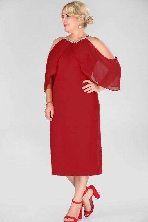 پیراهن لباس شب کار شده سنگی زنانه  157223286 Nesrinden |