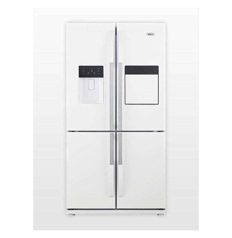 تصویر یخچال فریزر چهار درب بکو مدل GNE134821E Beko refrigerator GNE134821E