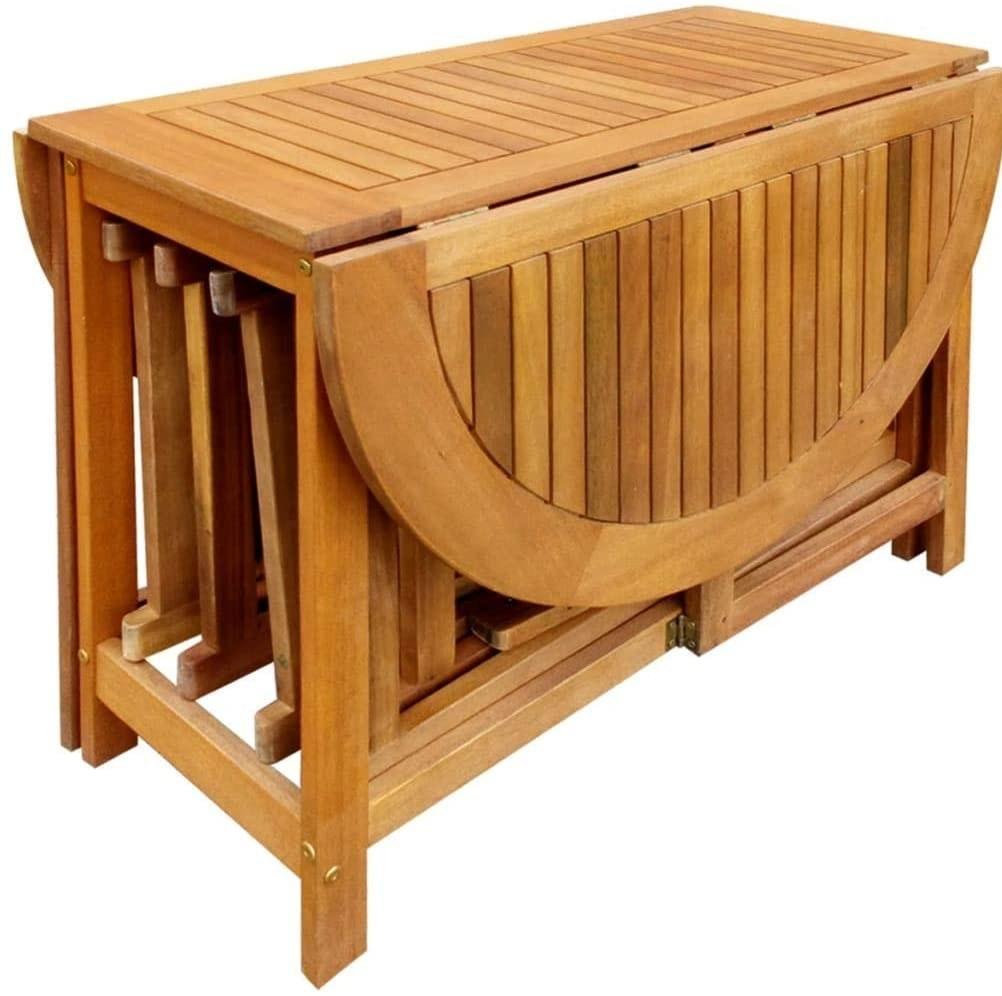 تصویر میز و صندلی تاشو اتویی_ کد ۱۱۱