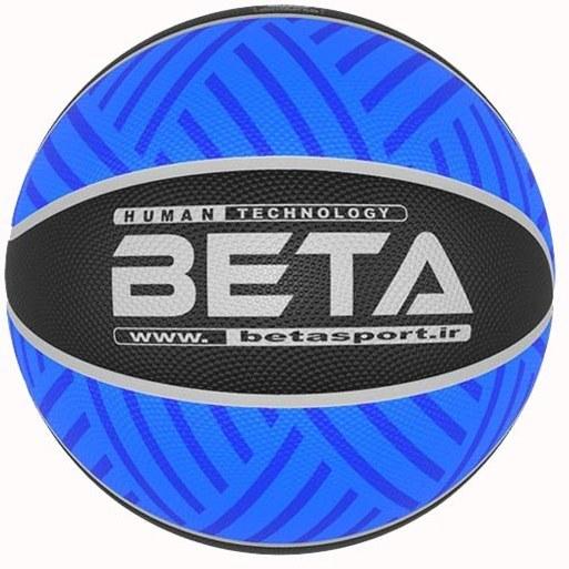 توپ بسکتبال پلاستیکی بتا طرح الوان PBR۷