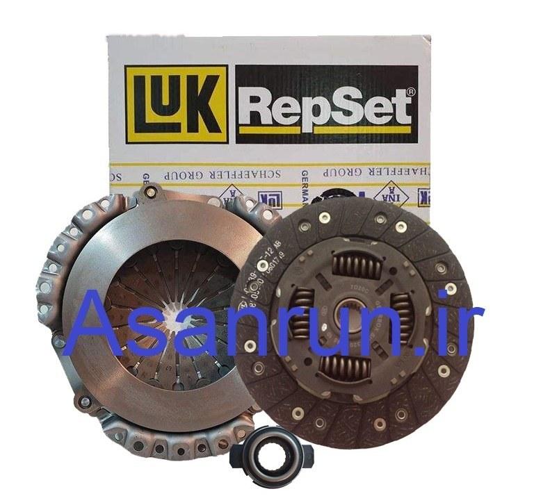 تصویر دیسک و صفحه پژو ۲۰۶ تیپ ۵ لوک آلمان LUK kit clutch 206