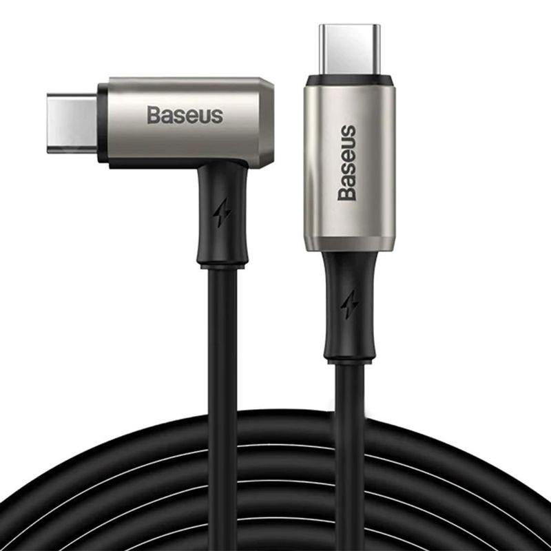 تصویر کابل تبدیل USB-C به USB-C باسئوس مدل CATPN-01 طول 1.5 متر