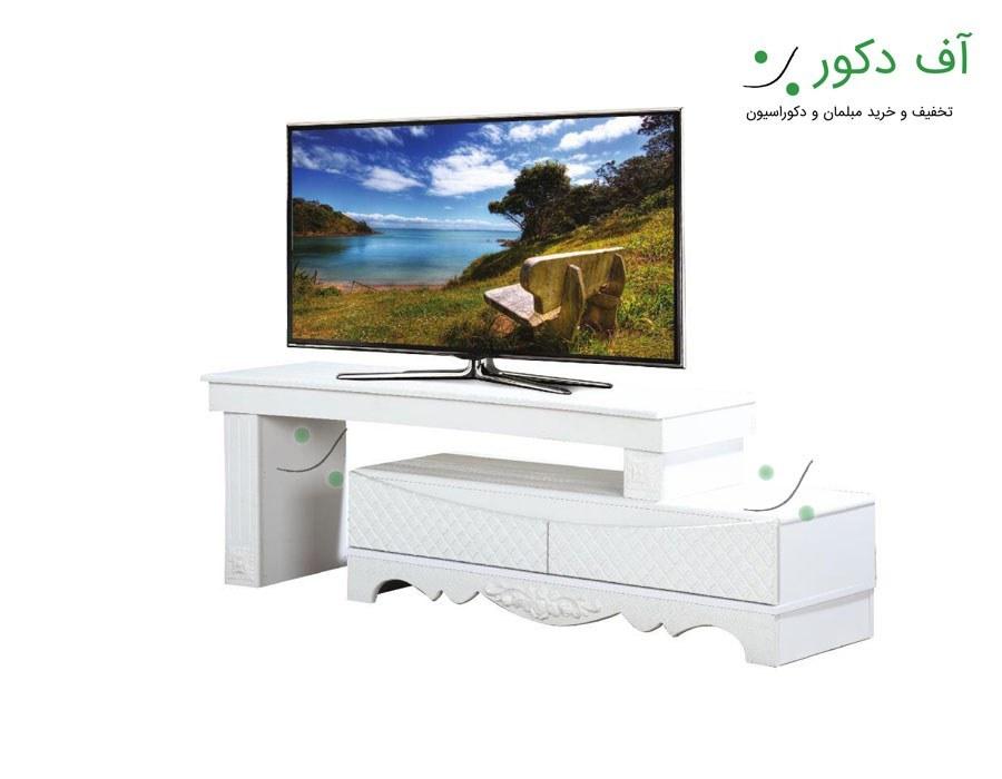 میز تلویزیون مدرن ال جدید
