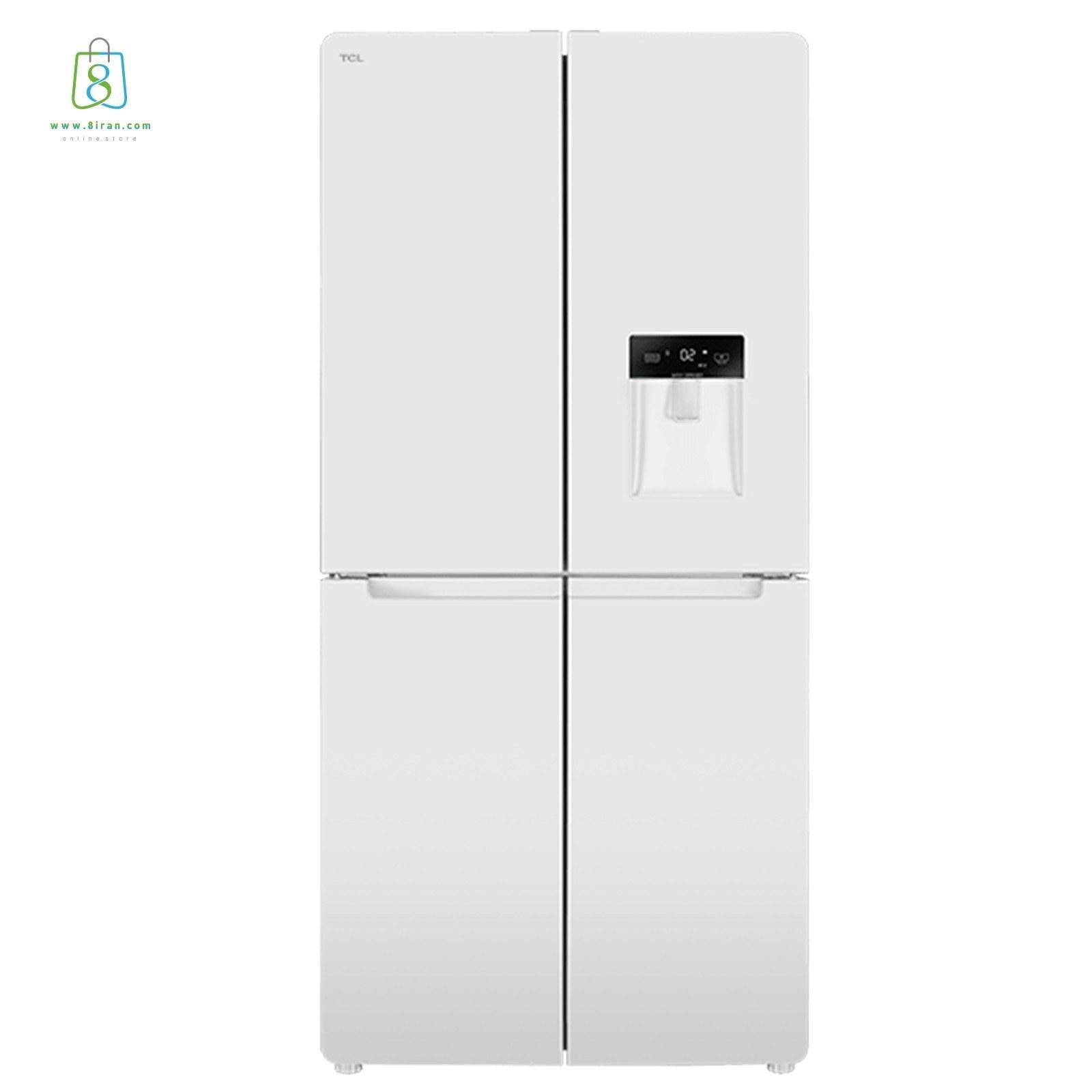 تصویر یخچال و فریزرساید بای ساید تی سی ال مدل TR4-540ED TCL refrigerator model TR4-540ED
