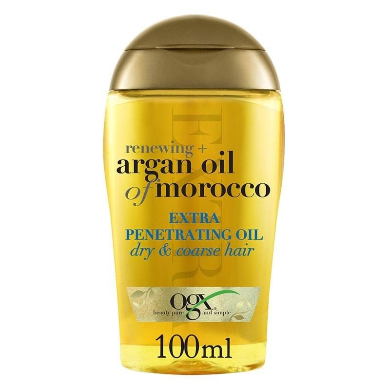 روغن آرگان اصل او جی ایکس موی خشک 100میل | OGX Renewing+ Argan Oil of Morocco Extra Penetrating