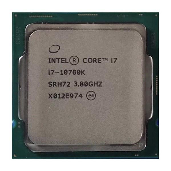 main images پردازنده اینتل سری Comet Lake مدل Core i7-10700K Intel Comet Lake Core i7-10700K CPU Tray