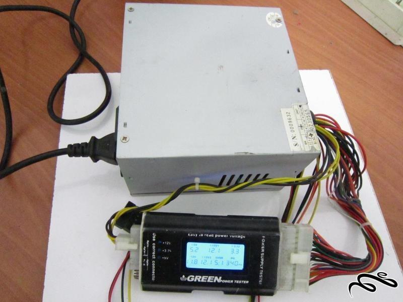 پاور Porche ATX-۴۰۰W&P۴ فن کوچک ۲۴ پین |