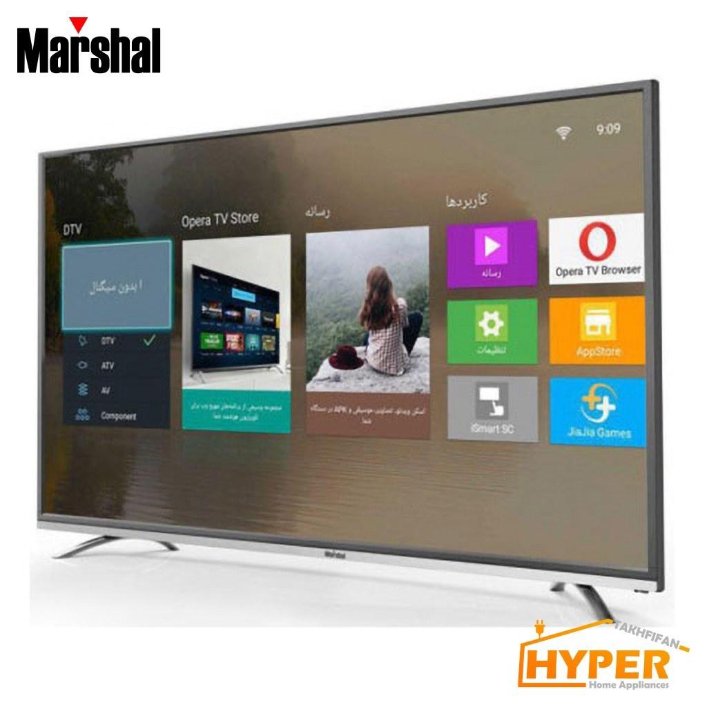 تلویزیون LED هوشمند مارشال 65 اینچ مدل ME-6514