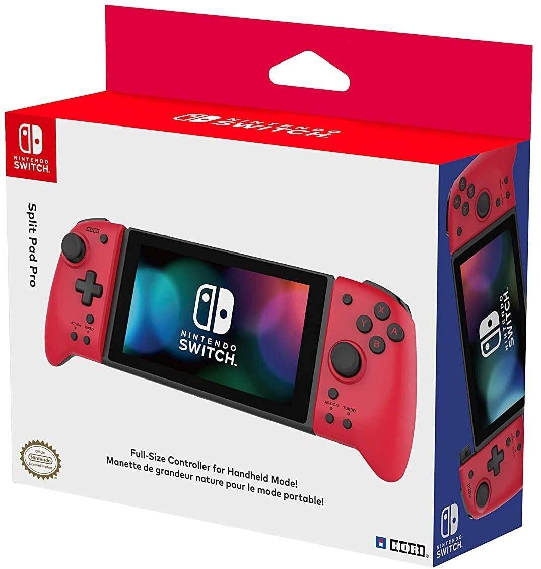 تصویر نینتندو سوییچ  Nintendo Switch Hori Split Pad Pro RED