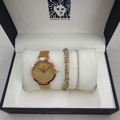 ست ساعت دستبند شاین طلایی