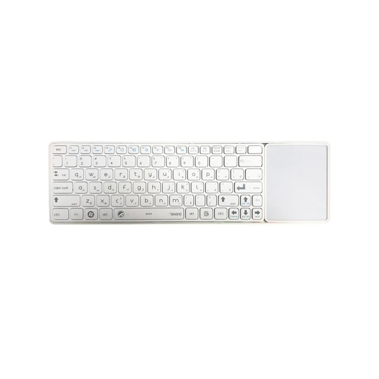 تصویر کیبورد بی سیم و تاچ پد بیاند مدل BK-6800RF Beyond BK-6800RF Bluetooth TouchPad Keyboard