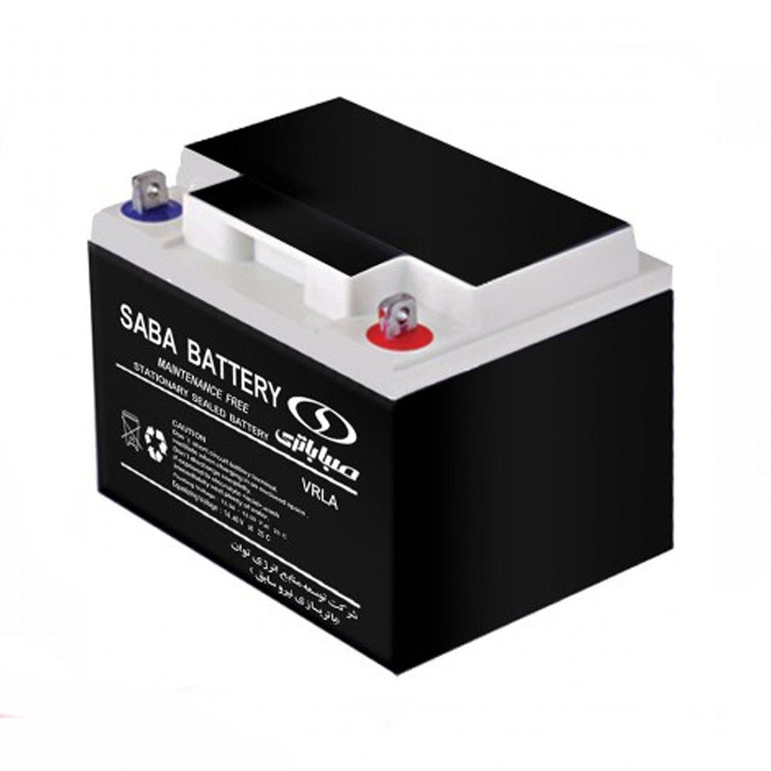 تصویر باتری 12 ولت 42 آمپر صبا باتری - Saba Battery