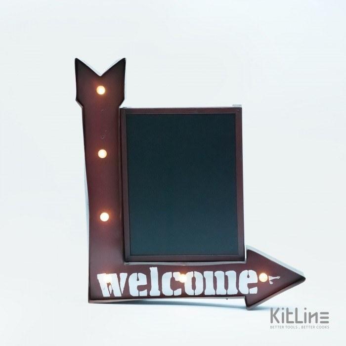 تصویر تابلو LED مدل تخته Welcome