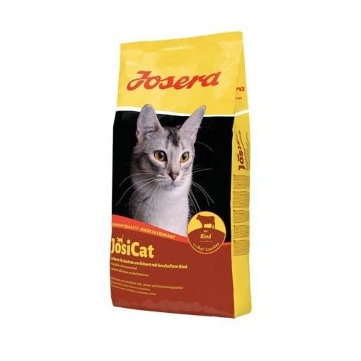 غذای خشک گربه بالغ، با طعم گوشت گوساله، ۱۰ کیلوگرمی، مدل جوسی کت، برند جوسرا |