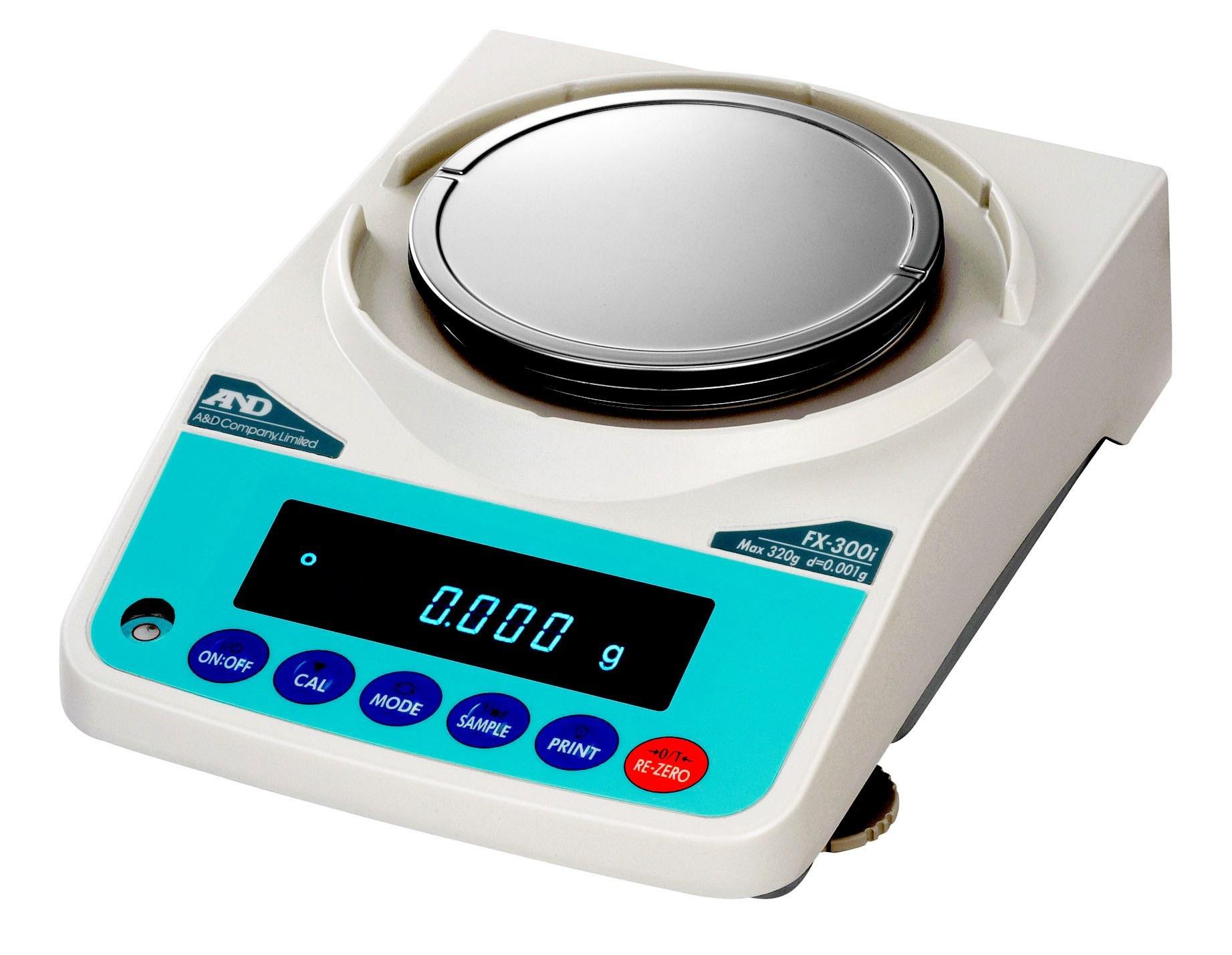 main images ترازوی آزمایشگاهی AND مدل FX300I Laboratory Scale Model FX 300 I