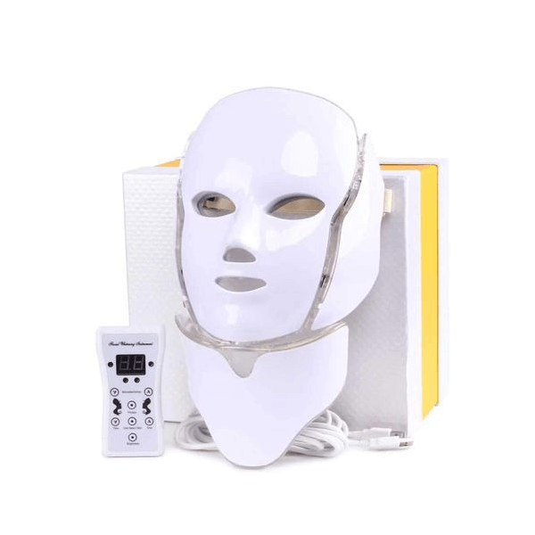 image ماسک صورت و گردن ال ای دی LED facial mask LED facial mask